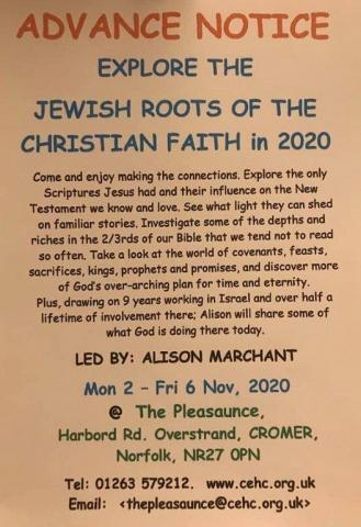 Explore the Jewish Roots of the Christian Faith